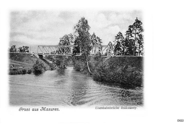 Rudczanny, Eisenbahnbrücke