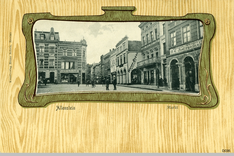 Allenstein, Markt