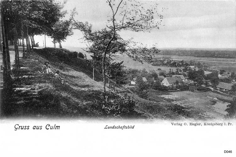 Culm, Landschaft
