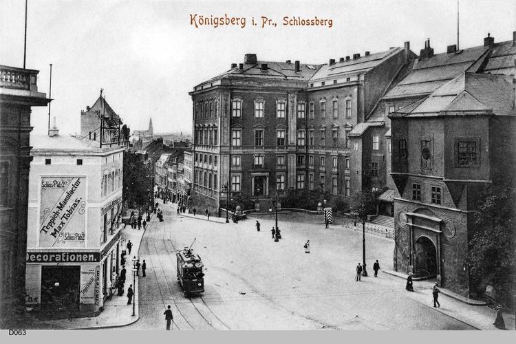 Königsberg, Schloßberg
