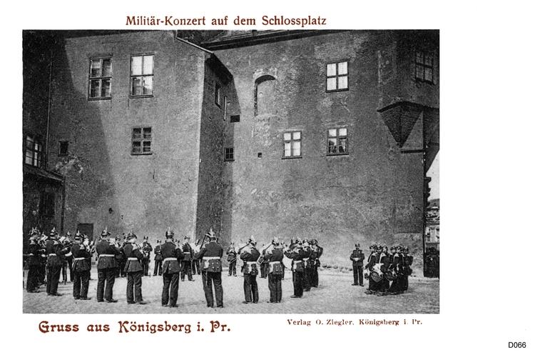 Königsberg, Schloßplatz, Konzert