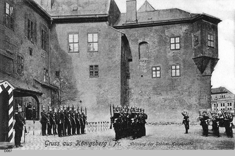 Königsberg, Ablösung der Schlosswache