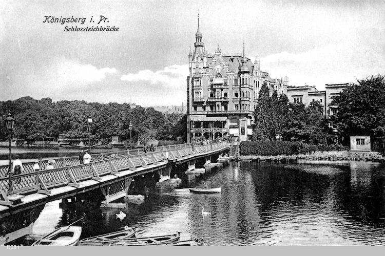 Königsberg, Schloßteichbrücke