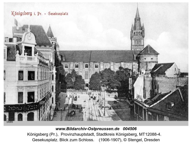 Königsberg, Gesekusplatz