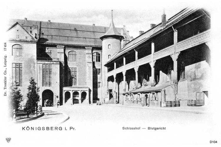 Königsberg, Schloßhof am Blutgericht