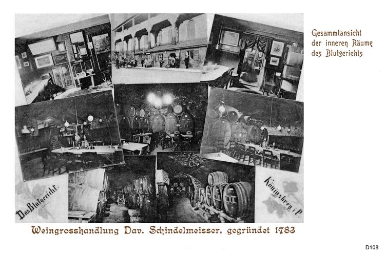 Königsberg, Blutgericht Innenansichten