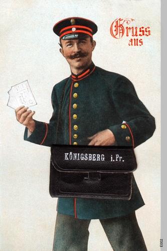 Königsberg, Briefträger