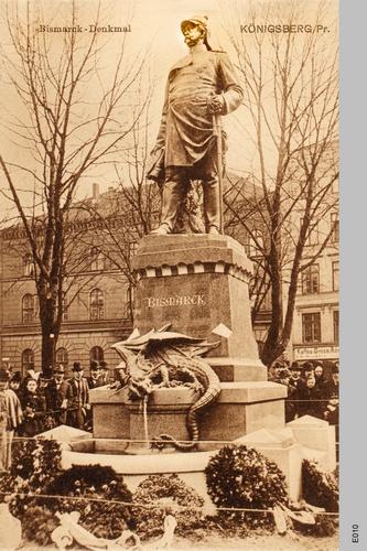Königsberg, Bismarckdenkmal