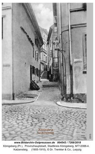 Königsberg, Katzensteig