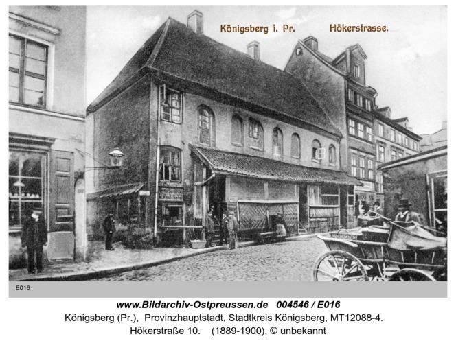 Königsberg, Hökerstraße