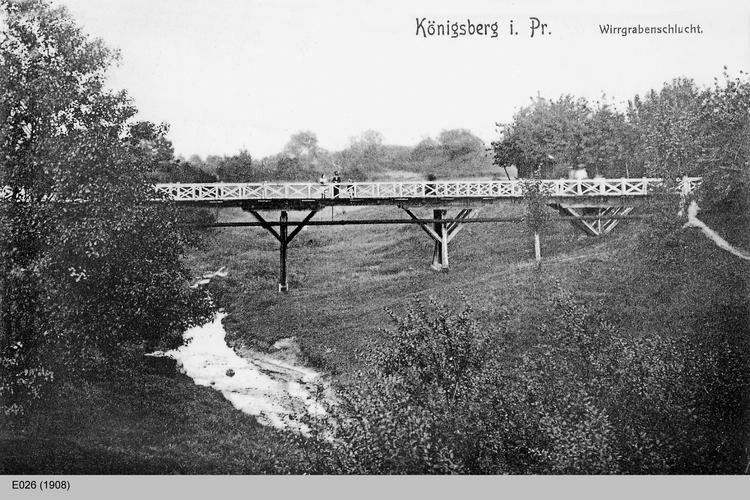 Königsberg, Wirrgrabenschlucht
