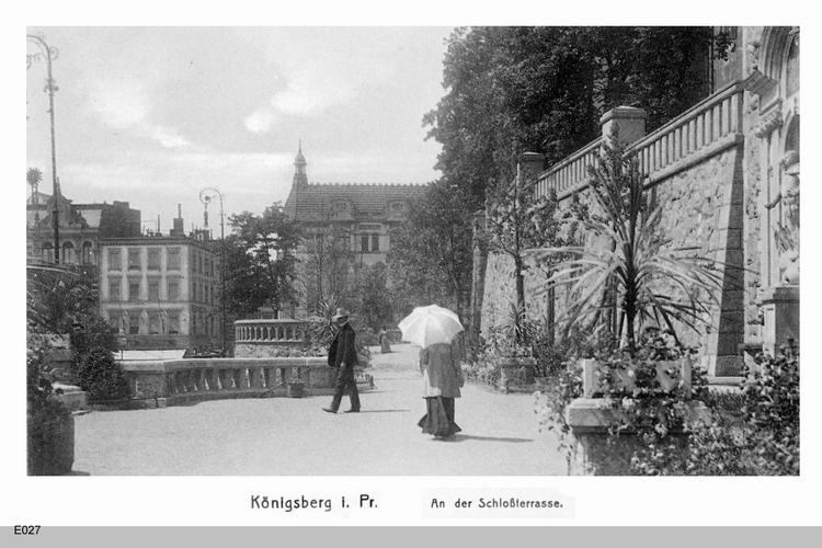 Königsberg, An der Schloßterrasse