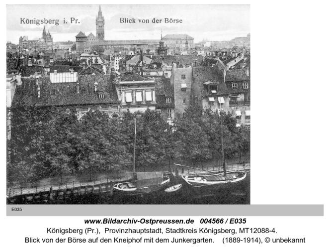 Königsberg, Blick von der Börse