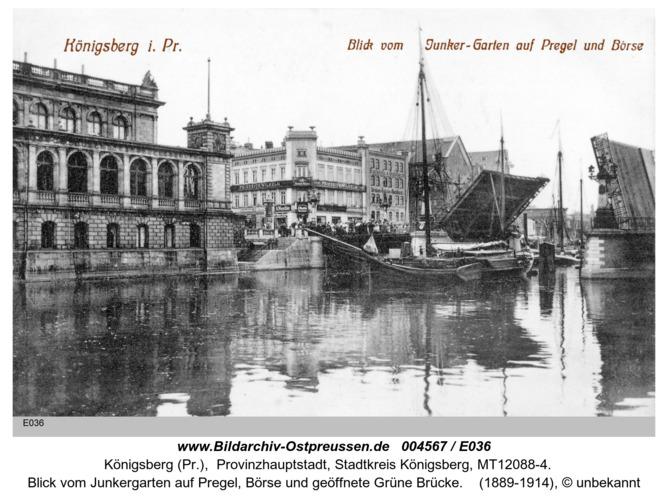 Königsberg, Junkergarten