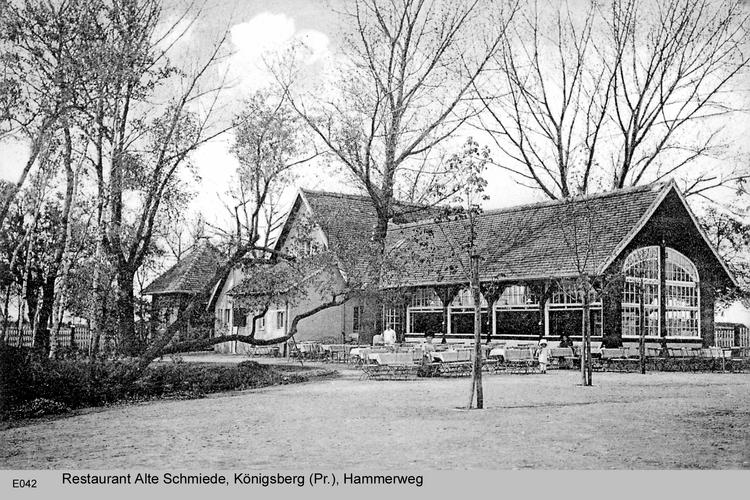 Königsberg, Restaurant Alte Schmiede, Hammerweg