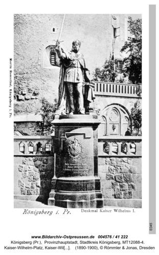 Königsberg, Kaiser Wilhelm Denkmal