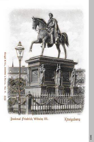 Königsberg, Friedrich Wilhelm Denkmal