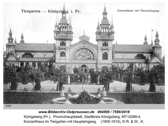 Königsberg, Konzerthaus im Tiergarten
