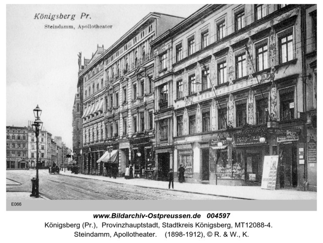 Königsberg, Apollotheater am Steindamm