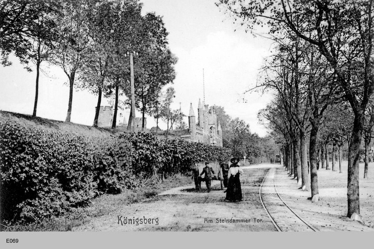 Königsberg, Am Steindamm Tor