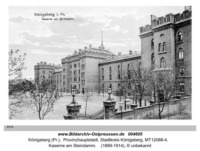 Königsberg, Kaserne am Steindamm