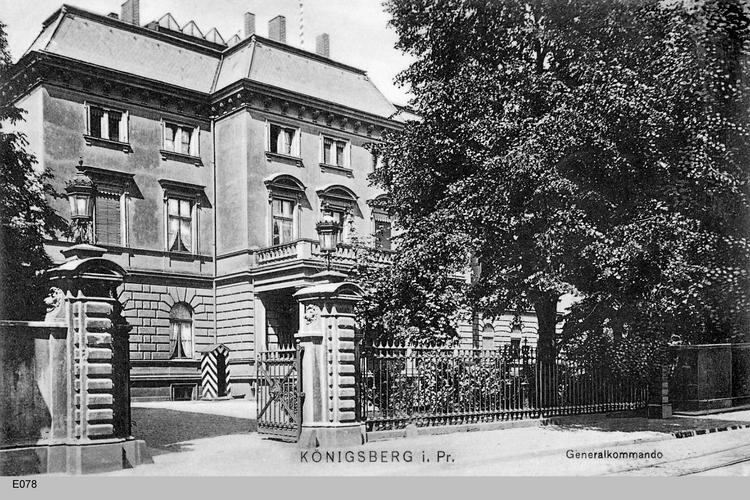 Königsberg, Generalkommando