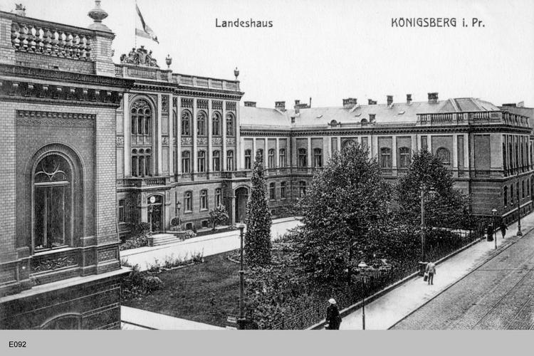 Königsberg, Landeshaus