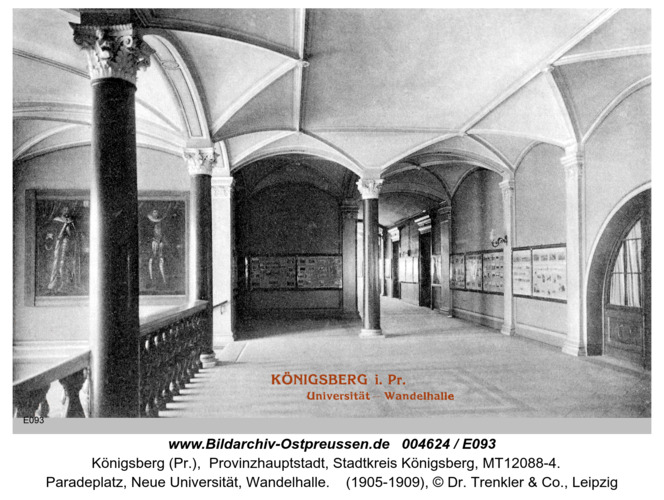 Königsberg, Universität Wandelhalle