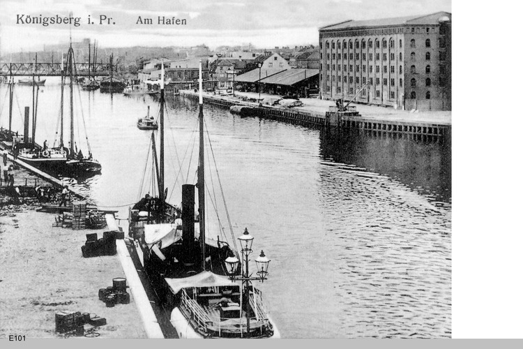 Königsberg, Am Hafen