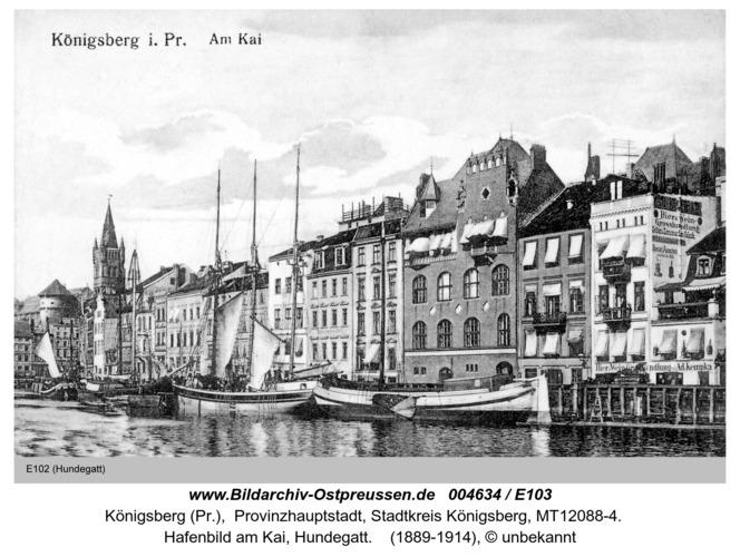 Königsberg, Am Kai Hundegatt