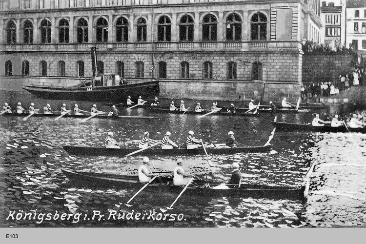 Königsberg, Ruderkorso Börse