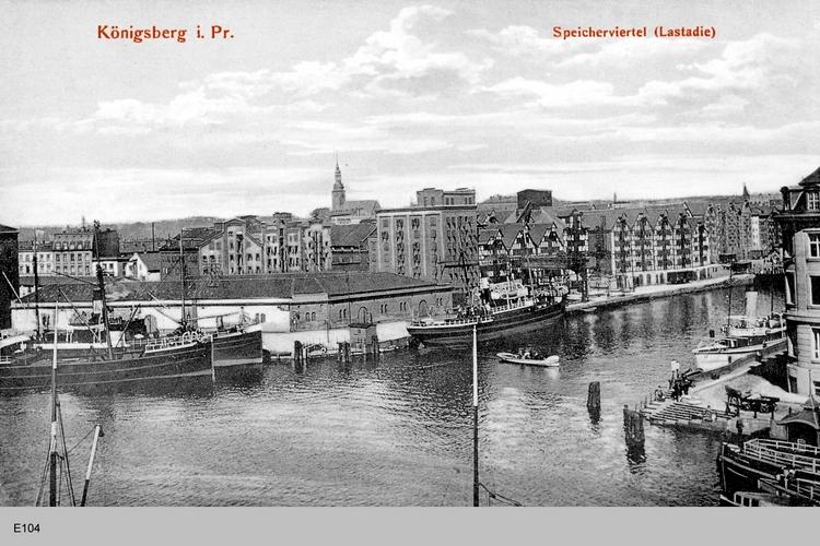 Königsberg, Speicherviertel Lastadie