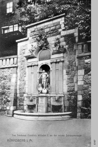 Königsberg, Denkmal Friedrich Wilhelm I