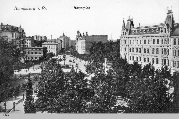 Königsberg, Kaiserplatz