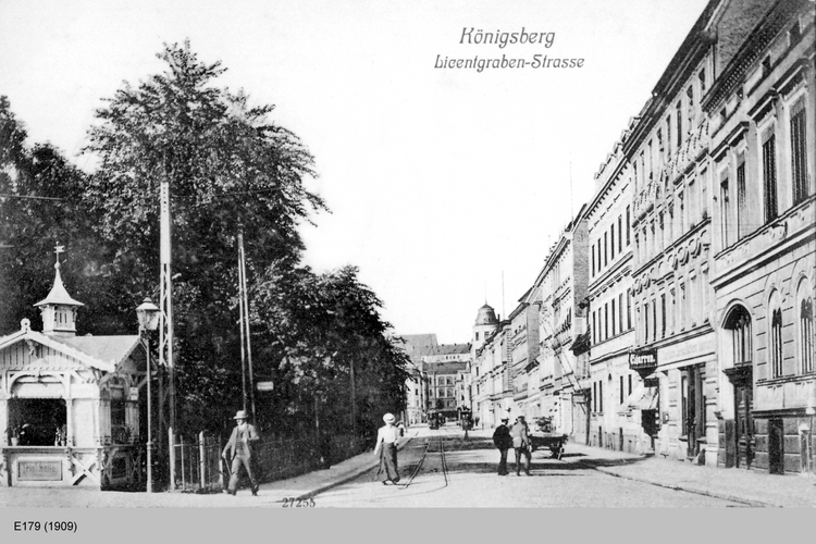 Königsberg, Licentgrabenstraße