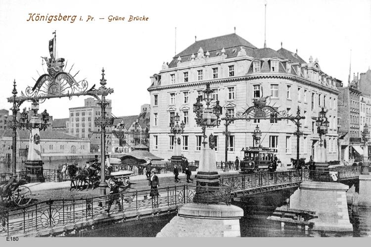 Königsberg, Grüne Brücke
