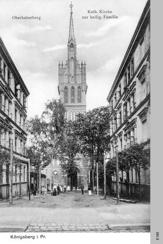 Königsberg, Katholische Kirche zur Heiligen Familie