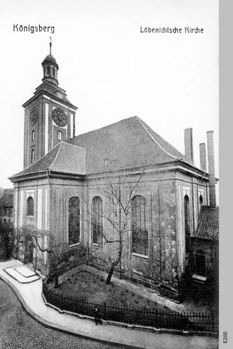 Königsberg, Löbnichtsche Kirche