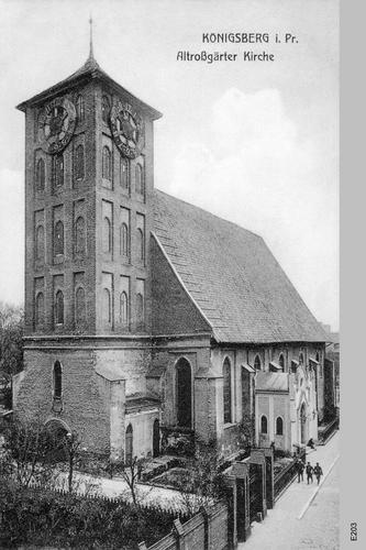 Königsberg, Altroßgärter Kirche