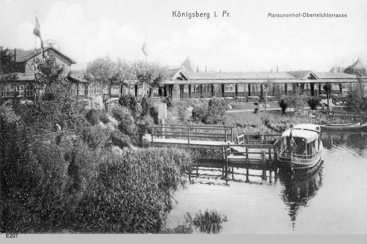 Königsberg, Maraunenhof Oberteichterrasse