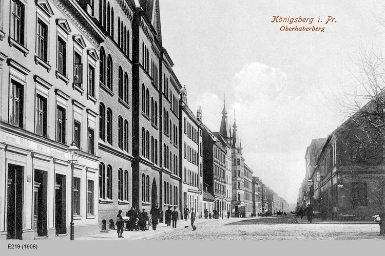 Königsberg, Oberhaberberg