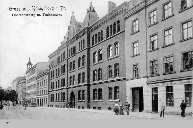 Königsberg, Oberhaberberg, Trainkaserne