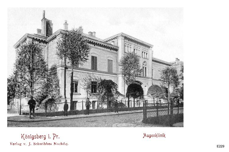 Königsberg, Augenklinik