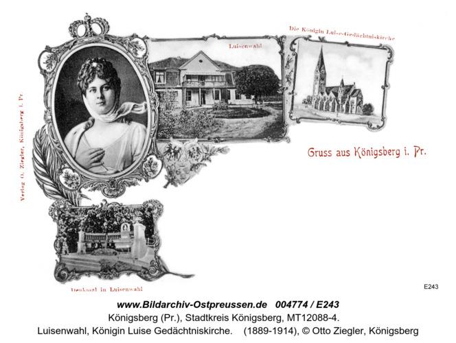 Königsberg, Luisenwahl, Königin Luise Gedächtniskirche
