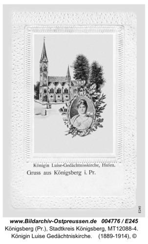 Königsberg, Königin Luise Gedächtniskirche