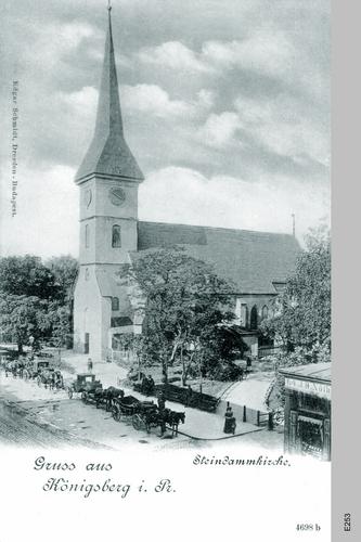 Königsberg, Steindamm Kirche