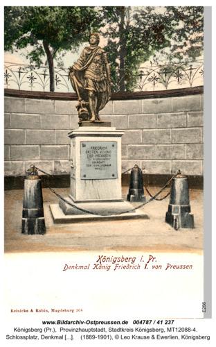Königsberg, Denkmal Friedrich
