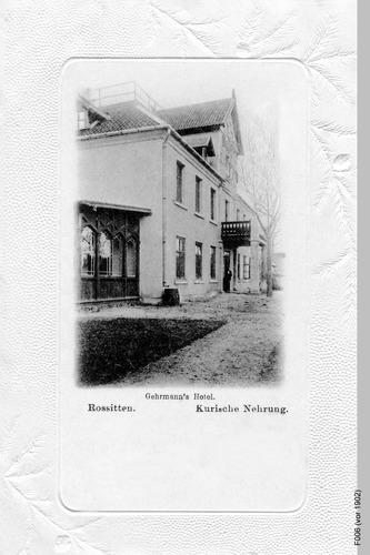 Rossitten, Gehrmanns Hotel