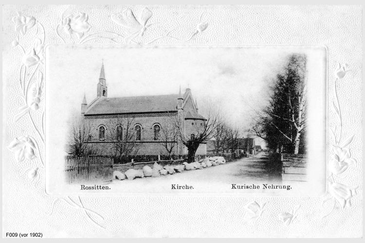 Rossitten, Kirche