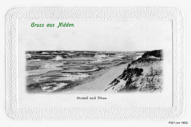 Nidden, Strand und Düne